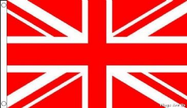 Union Jack  (Red & White)